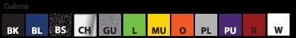 Billet Livorsi Controls Knob and Base-Plate Color Choices